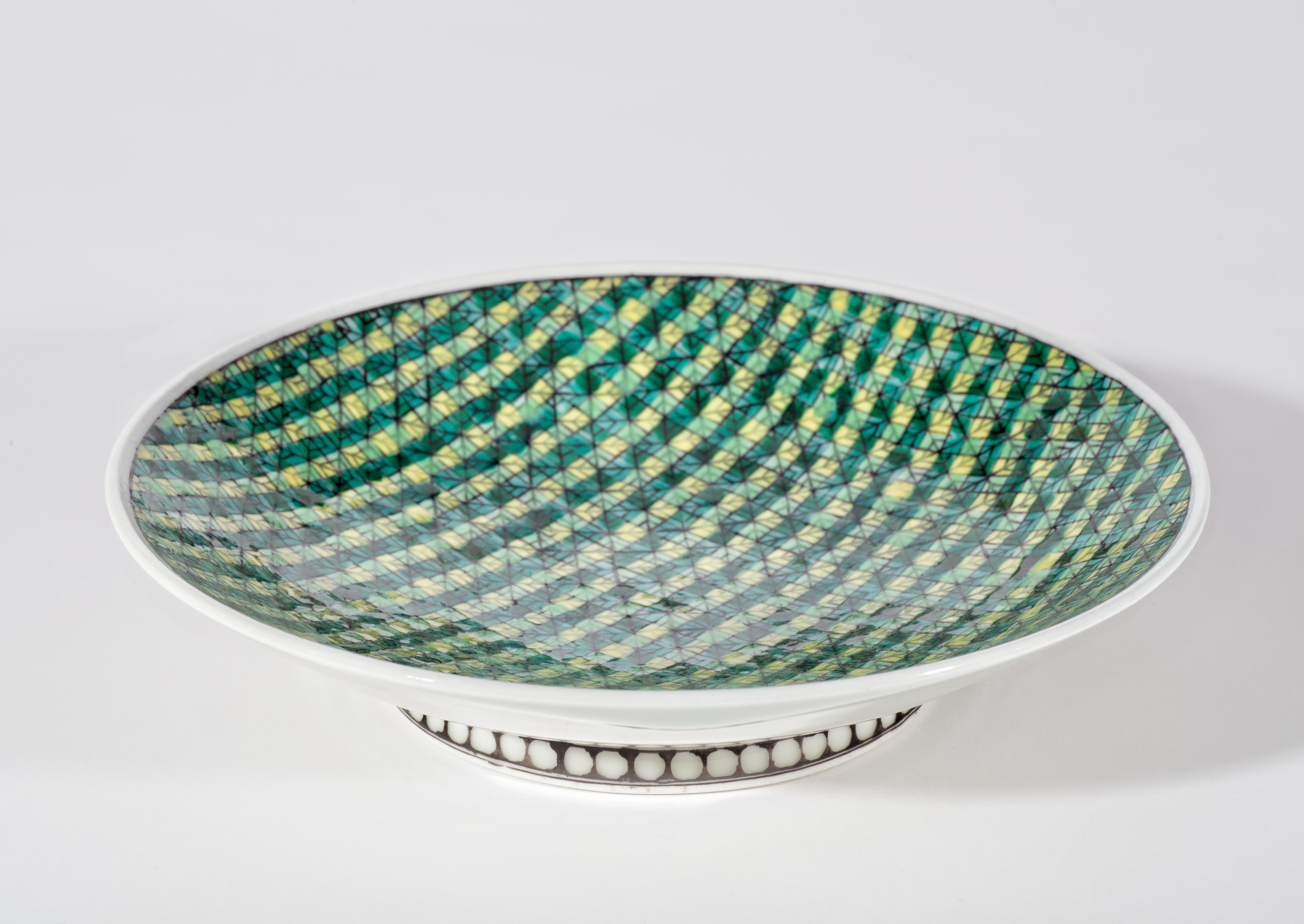 Woven Small Plate, Side View
