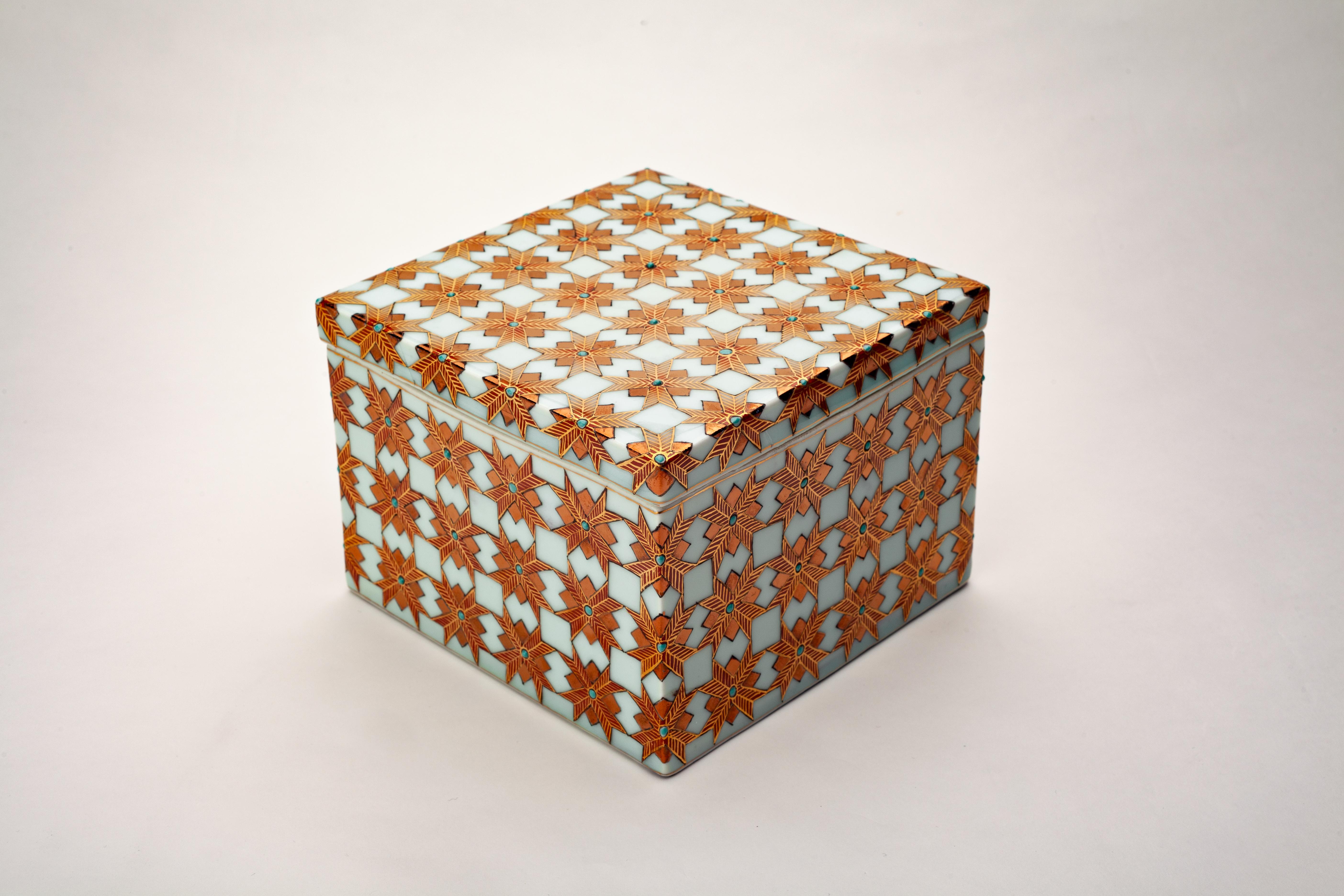 Enigma Porcelain Box, Warrior Series